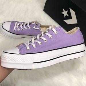 Converse lilac platform